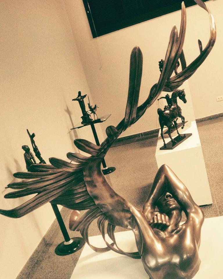 Fundiart convida para exposição 'Arte em Bronze'