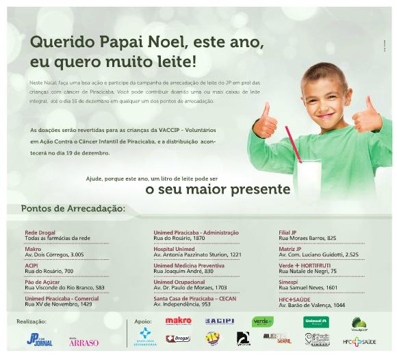 Simespi recebe doações de leite para campanha da Vaccip