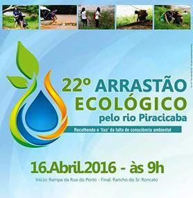 Arrastão Ecológico no rio Piracicaba já tem nova data