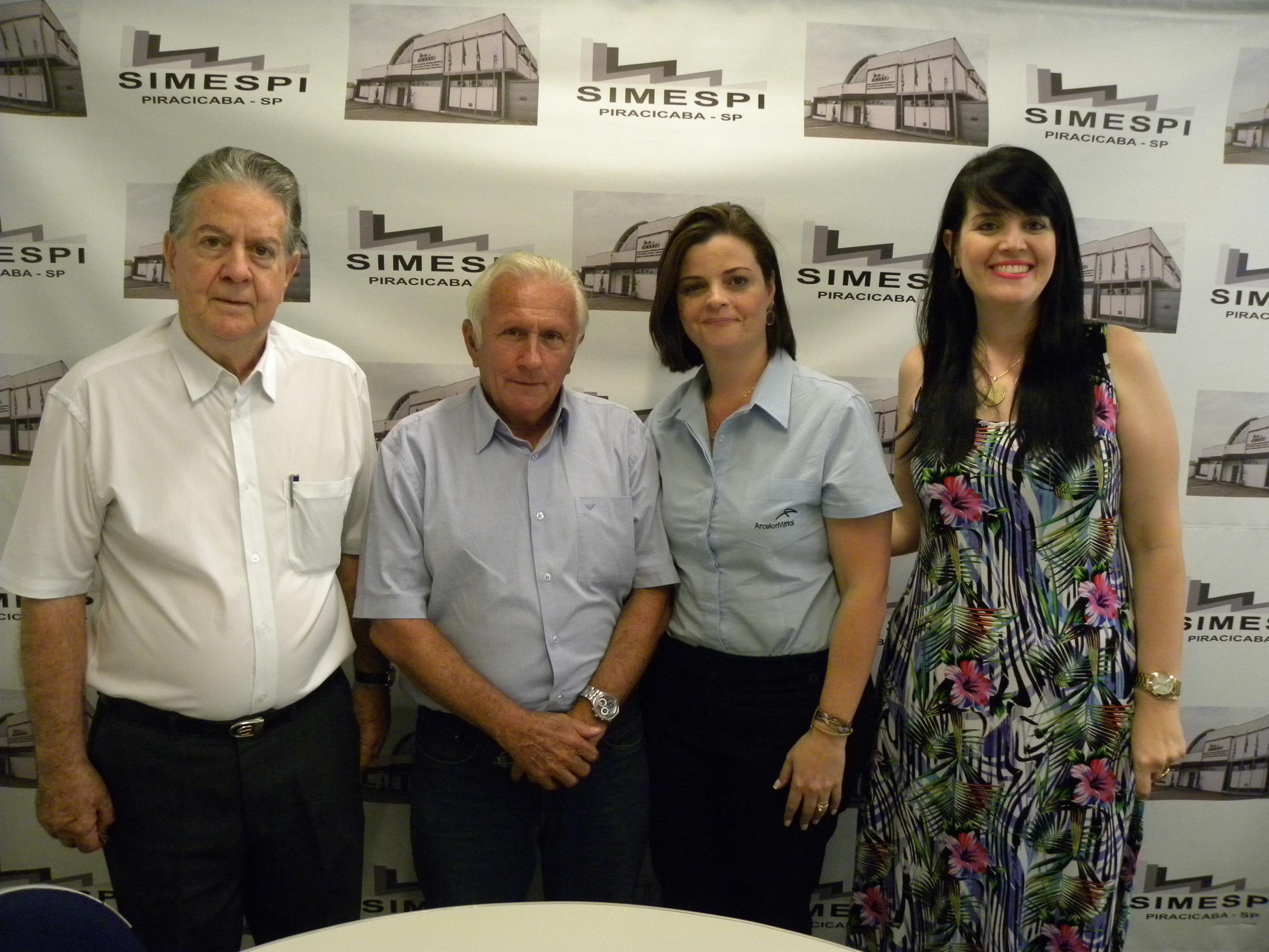 Visita da nova diretora adjunta de Relações Humanas/Jurídico