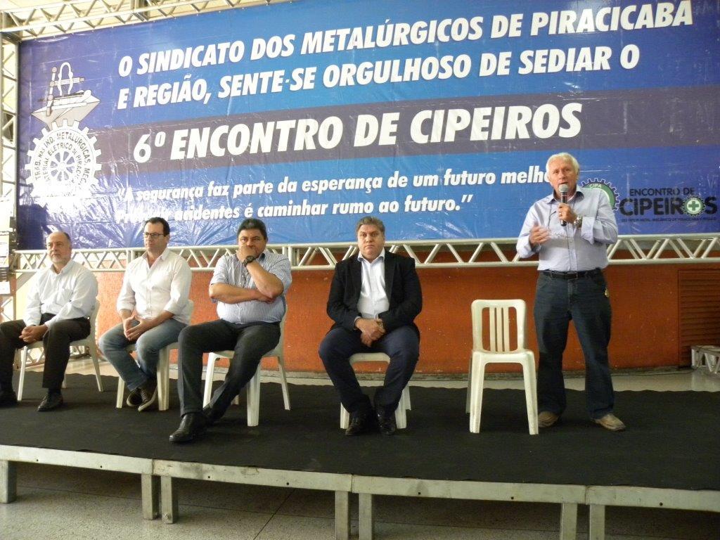 Encontro de Cipeiros discute segurança no trabalho