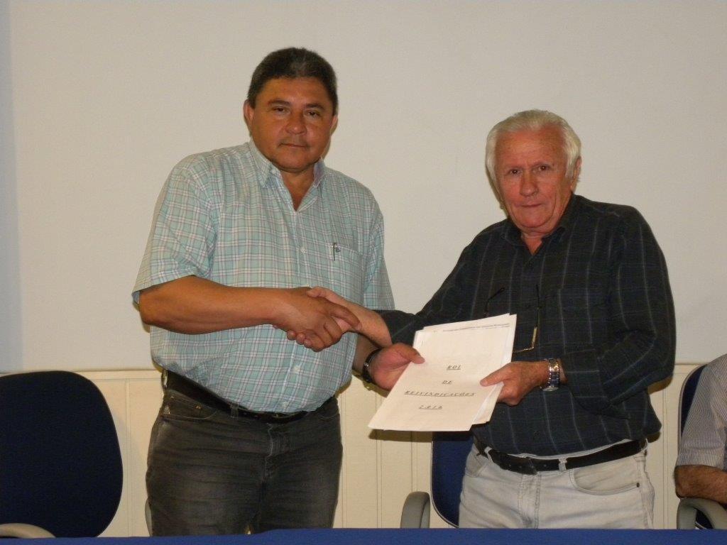 Simespi recebe Pauta de Reivindicações do Sindicado dos Metalúrgicos de Piracicaba