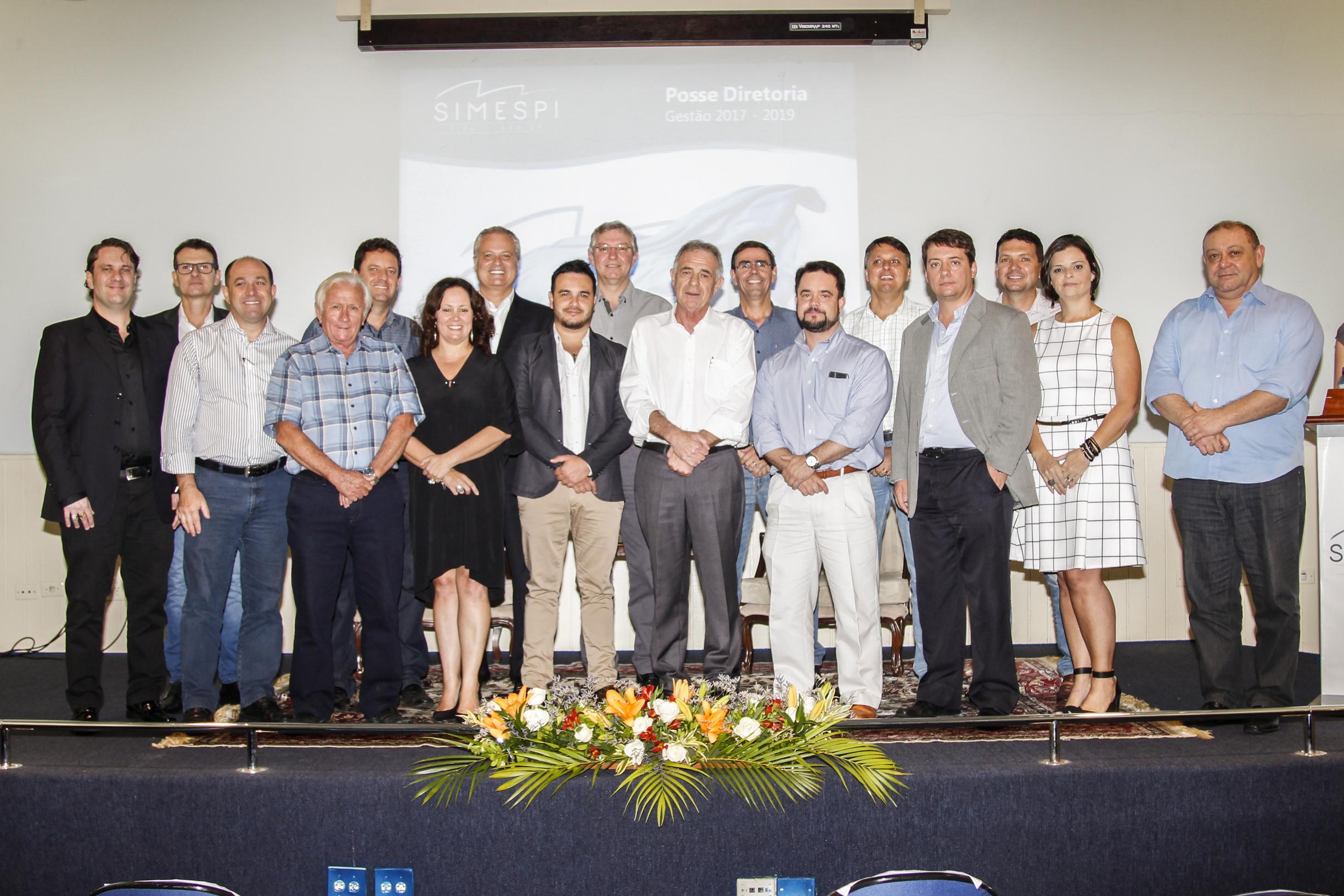 Nova diretoria do Simespi toma posse  para gestão 2017-2019