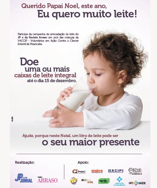 Simespi participa de campanha para arrecadação de leite