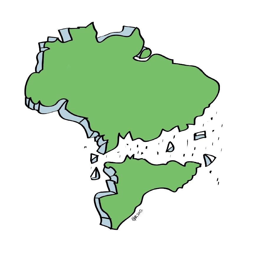 Brasil, o país eternamente gripado, por Erick Gomes