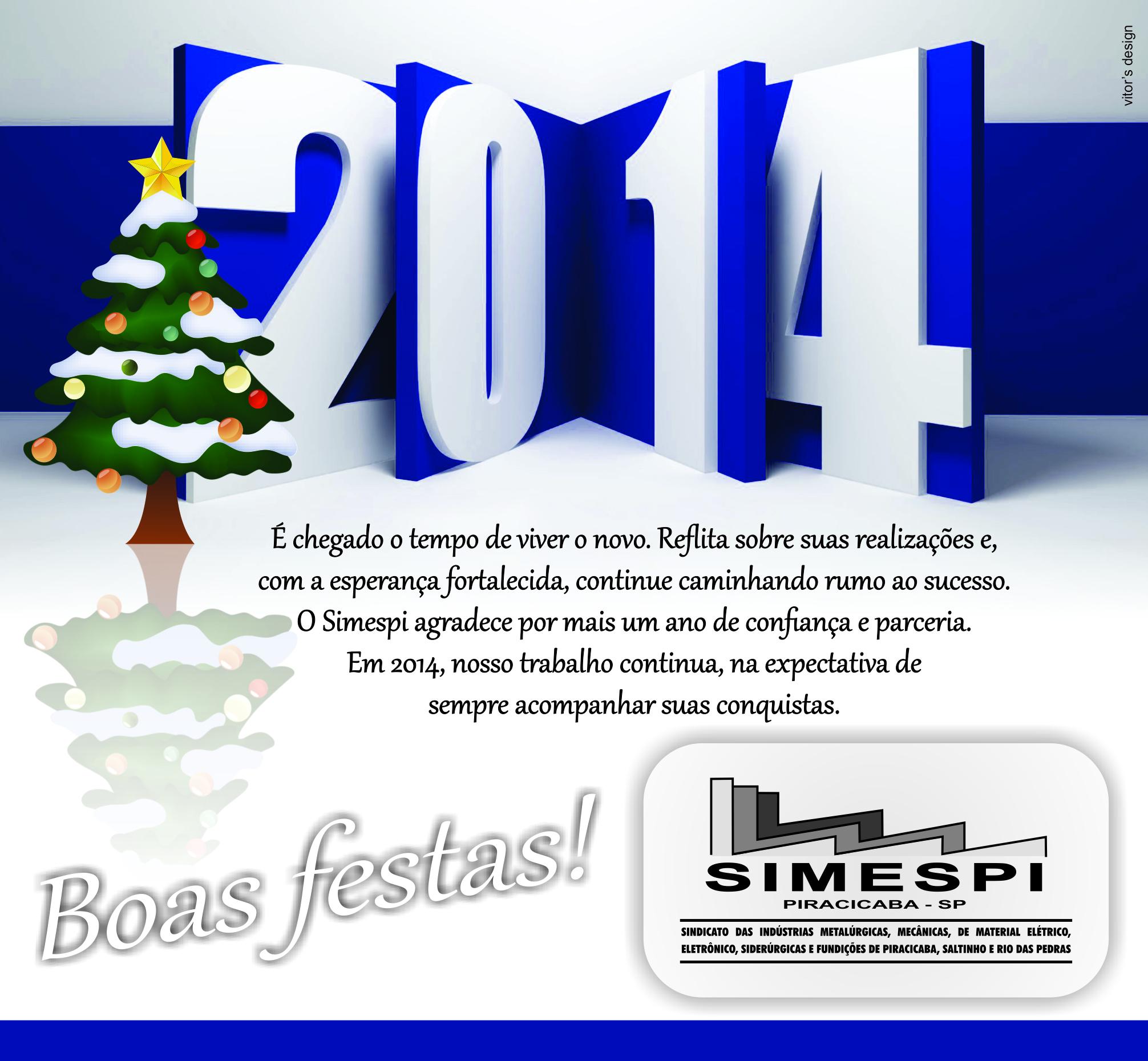 Funcionamento do Simespi no fim do ano