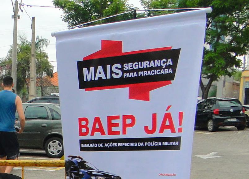 Campanha por instalação da Baep
