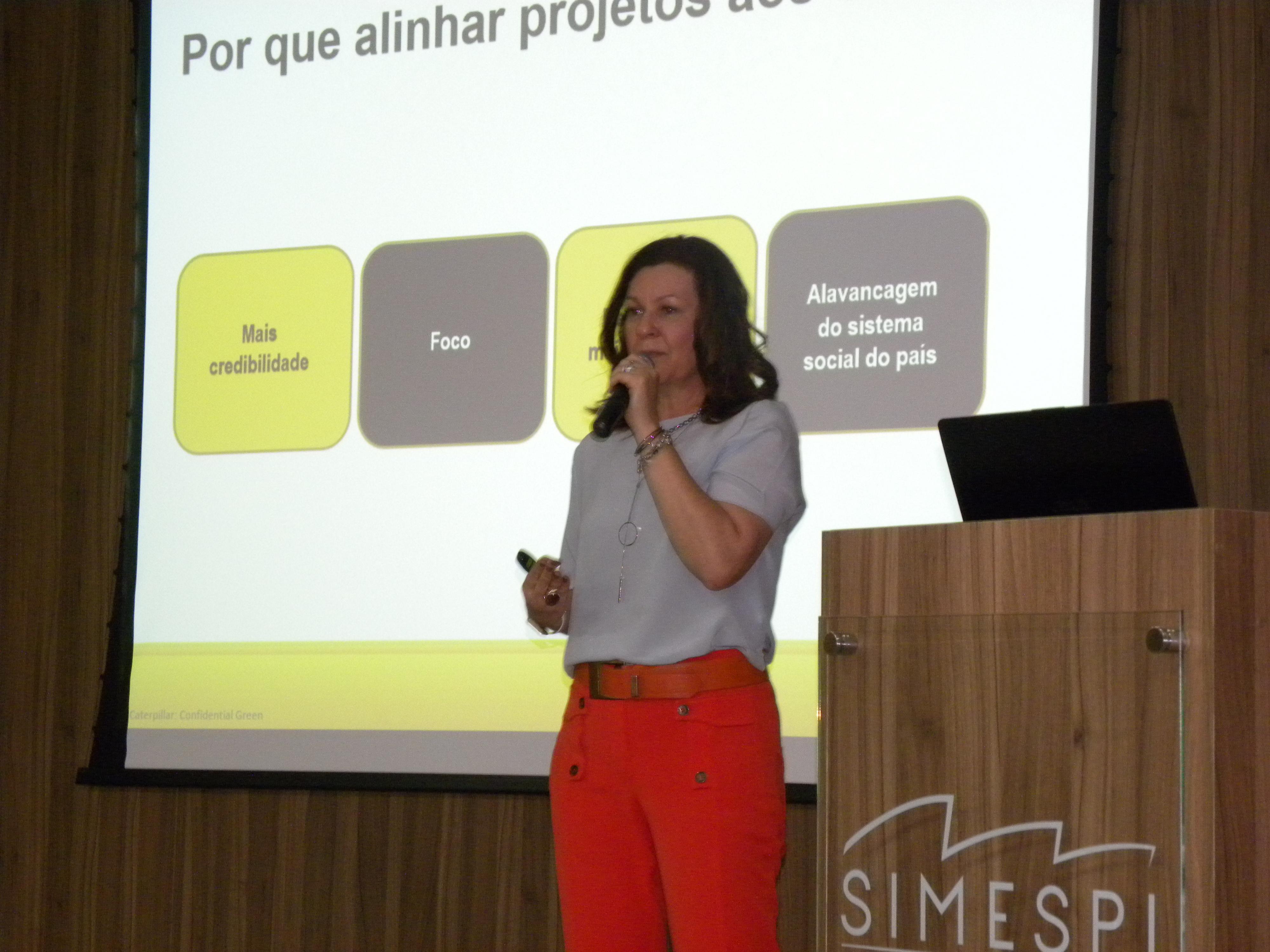 Simespi realiza palestra sobre trabalho voluntário