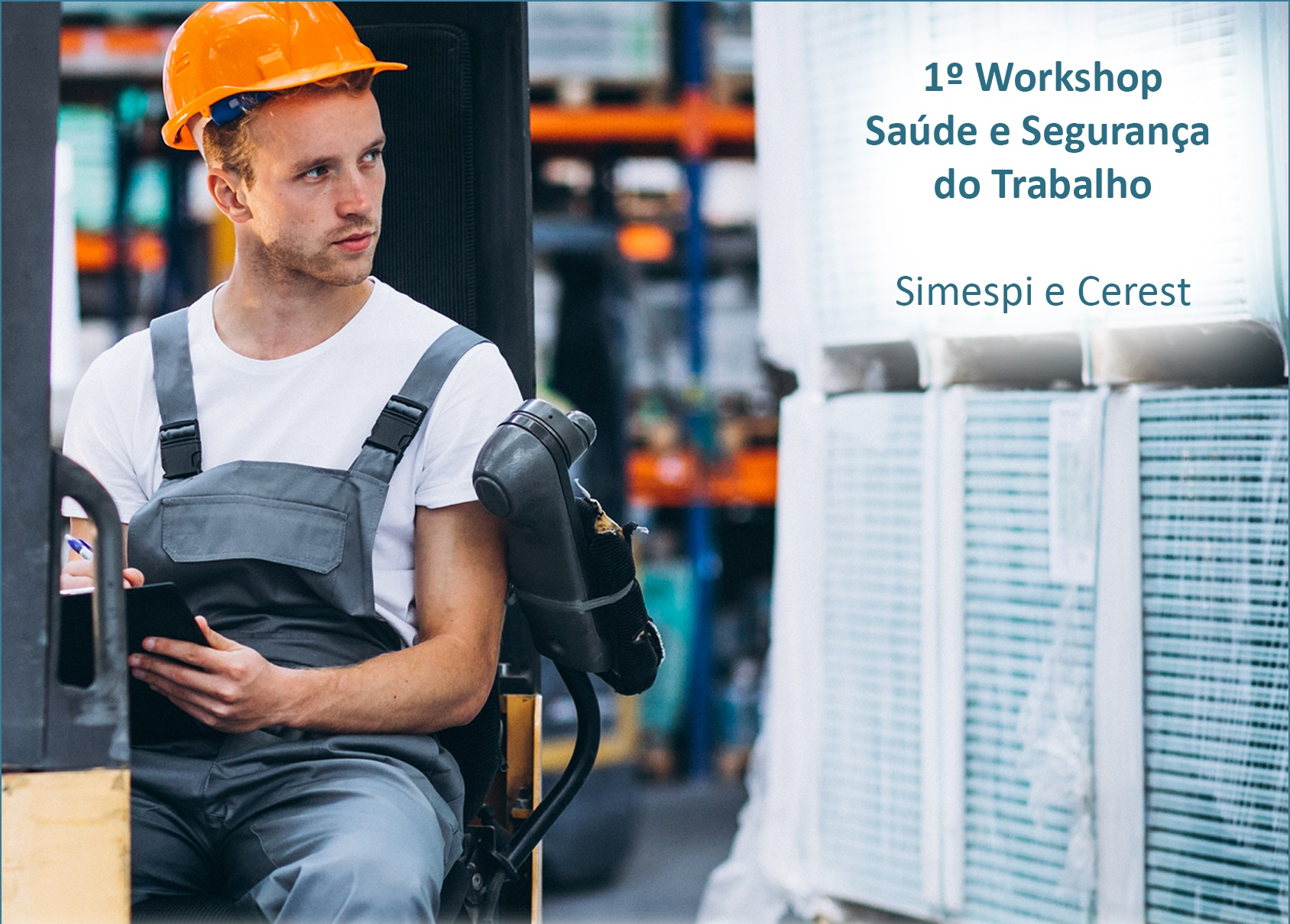 Workshop debate segurança do trabalho com especialistas de grandes empresas