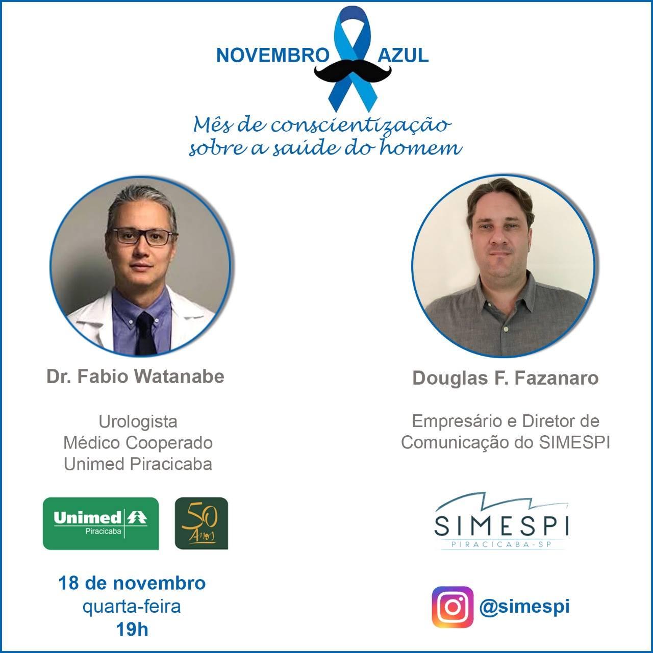 Novembro Azul – Mês de Conscientização Sobre a Saúde do Homem
