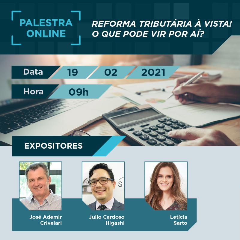 Simespi promove palestra on-line sobre as mudanças e os impactos da nova Reforma Tributária