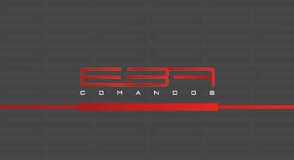 Logotipo - E.B.A. Comandos Hidráulicos