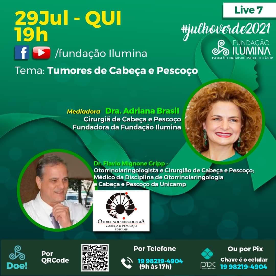 """Ilumina: campanha de prevenção """"Julho Verde"""" traz esperança"""