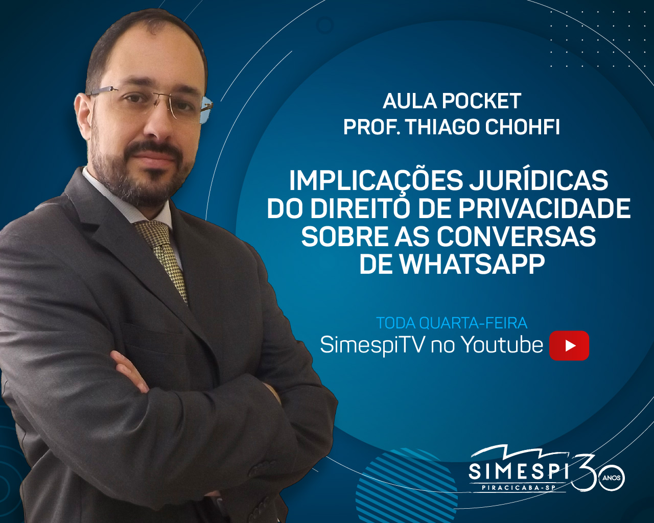 Simespi e Chohfi Lopes Advogados apresentam: Implicações jurídicas do direito de privacidade sobre as conversas de WhatsApp